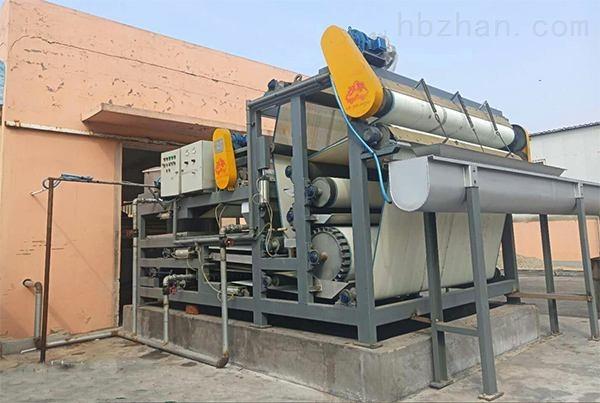 青岛洗砂污泥脱水机