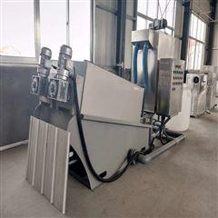 202海鲜加工污水脱泥设备 叠螺污泥压滤机