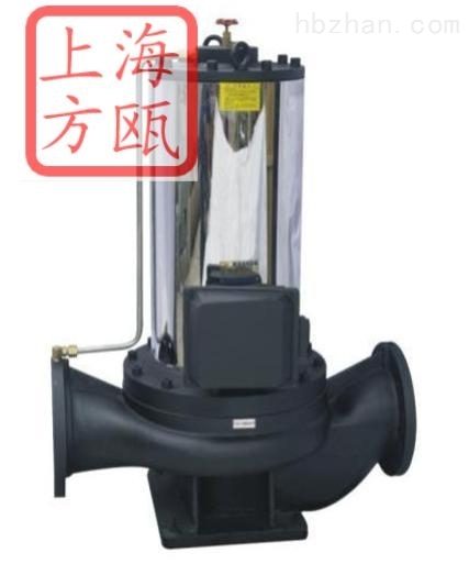 SPG型立式不锈钢屏蔽管道离心泵