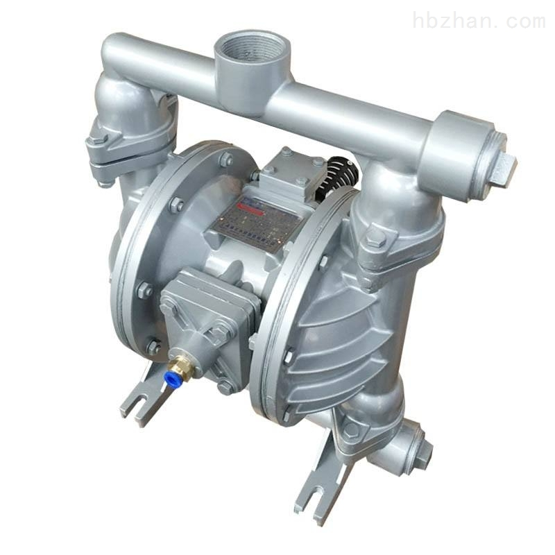 QBY-25不锈钢304气动隔膜泵F46膜片