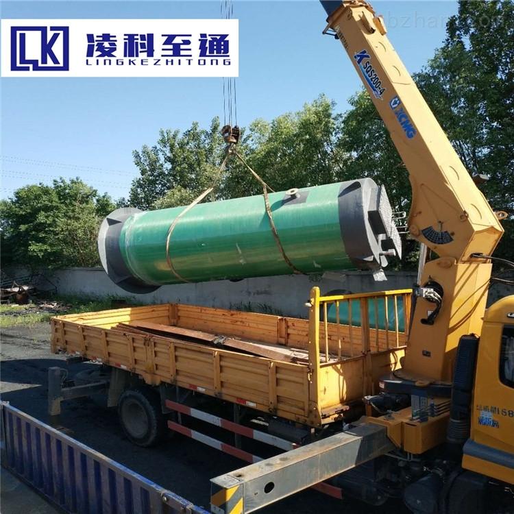 濮阳服务区一体化预制泵站工作原理