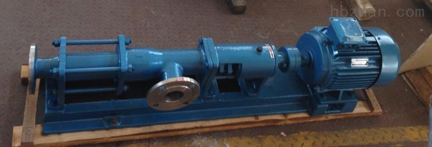 G35-1型螺杆泵侧口出料