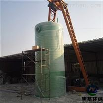 一体化污水提升泵站设计