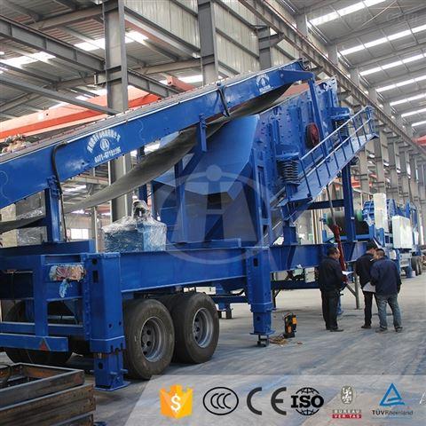 100吨移动重锤式制沙机郑州厂家报价