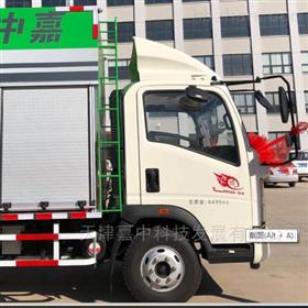 TJZ5100TWC-70河道污水处理车使用方法