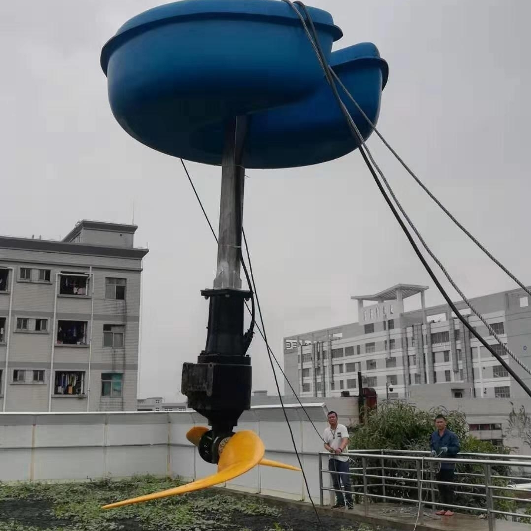 LHJ-4-2200生化池浮筒低速推流器
