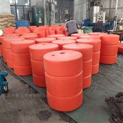 供应可串联的中间通孔一体成型拦污浮筒