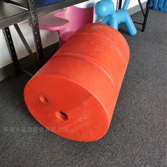 中间通孔一体成型整体式拦污浮筒