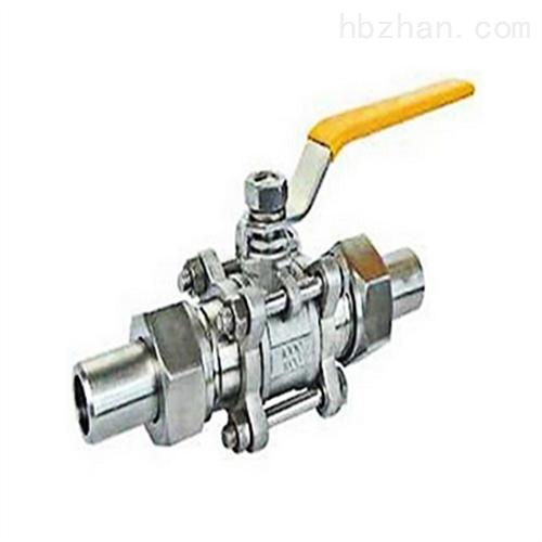 Q21F三片式活接对焊球阀