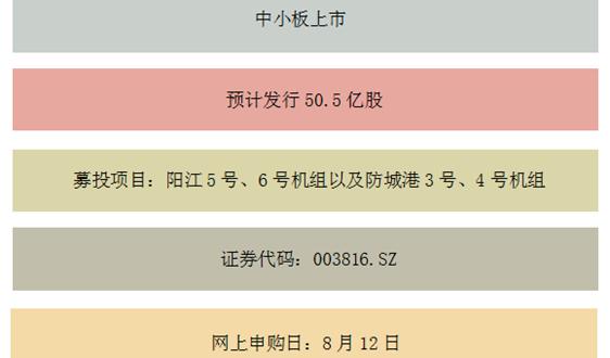 """""""闪电""""放行,募资150亿 聚焦中广核IPO"""