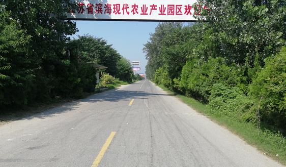 江苏省滨海县农业园做强蔬菜产业打好绿色增收牌