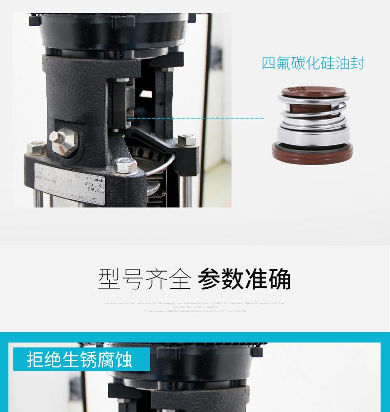 不锈钢多级泵密封