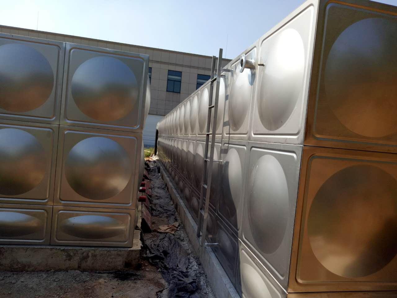 张家港如皋泰兴组合式不锈钢水箱产品详解