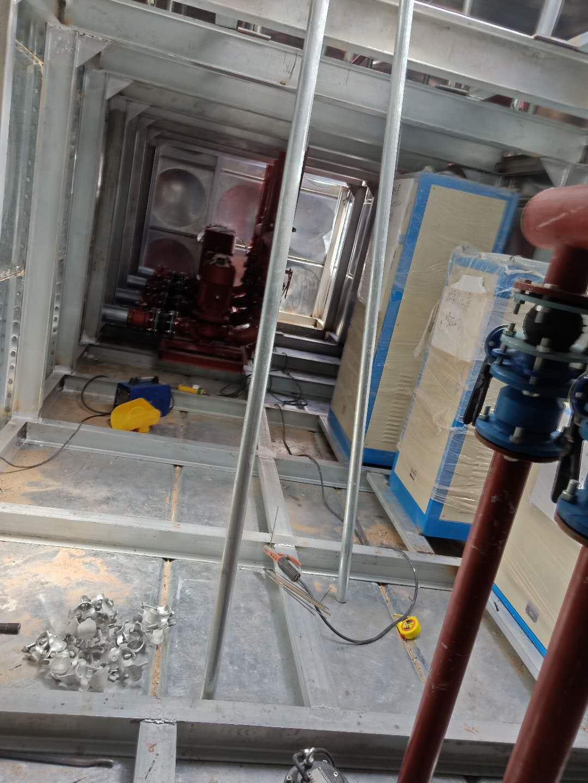 热烈祝贺昆山地埋式箱泵一体化96立方发货完成