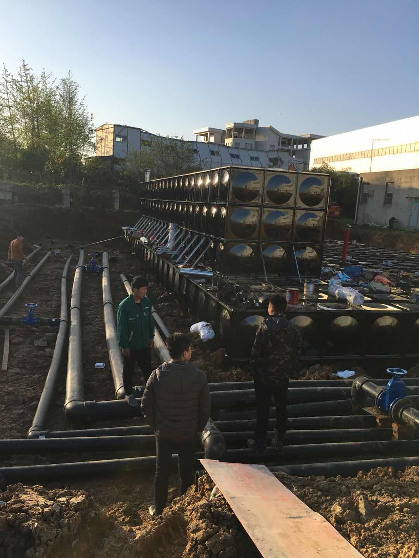 祝贺陕西榆林不锈钢水箱7x7x4.5顺利签约完成