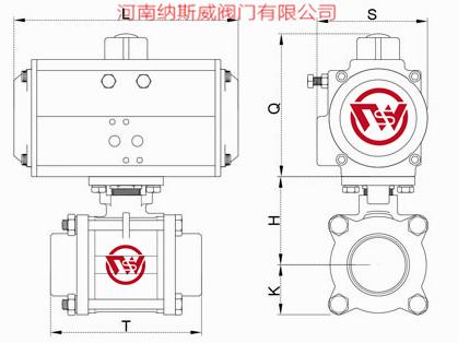 气动三片式焊接球阀结构图N1.jpg
