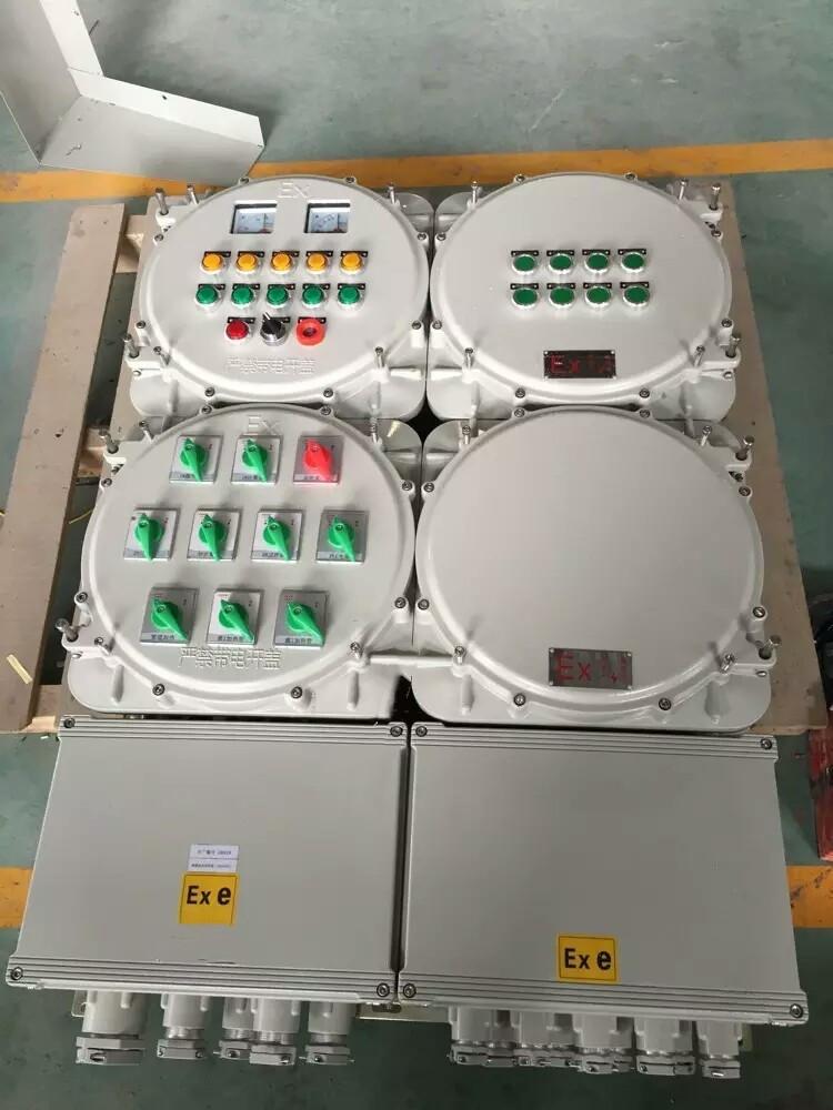 加油站时控铝合金防爆照明配电箱BXM53-10