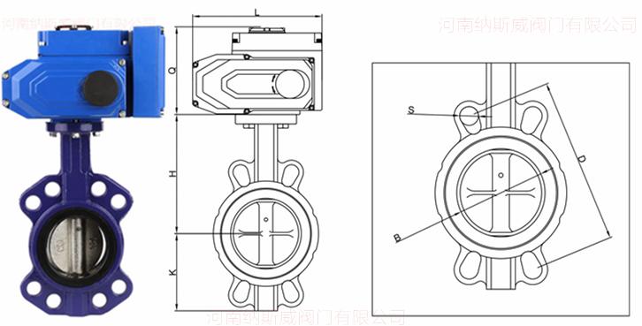 调节型电动软密封对夹蝶阀结构图N.jpg