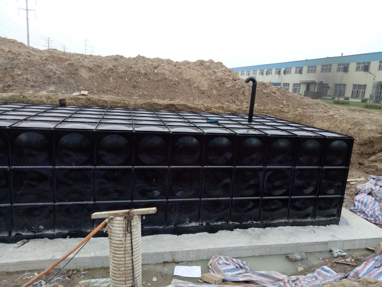地埋式箱泵一体化消防水池制作工艺