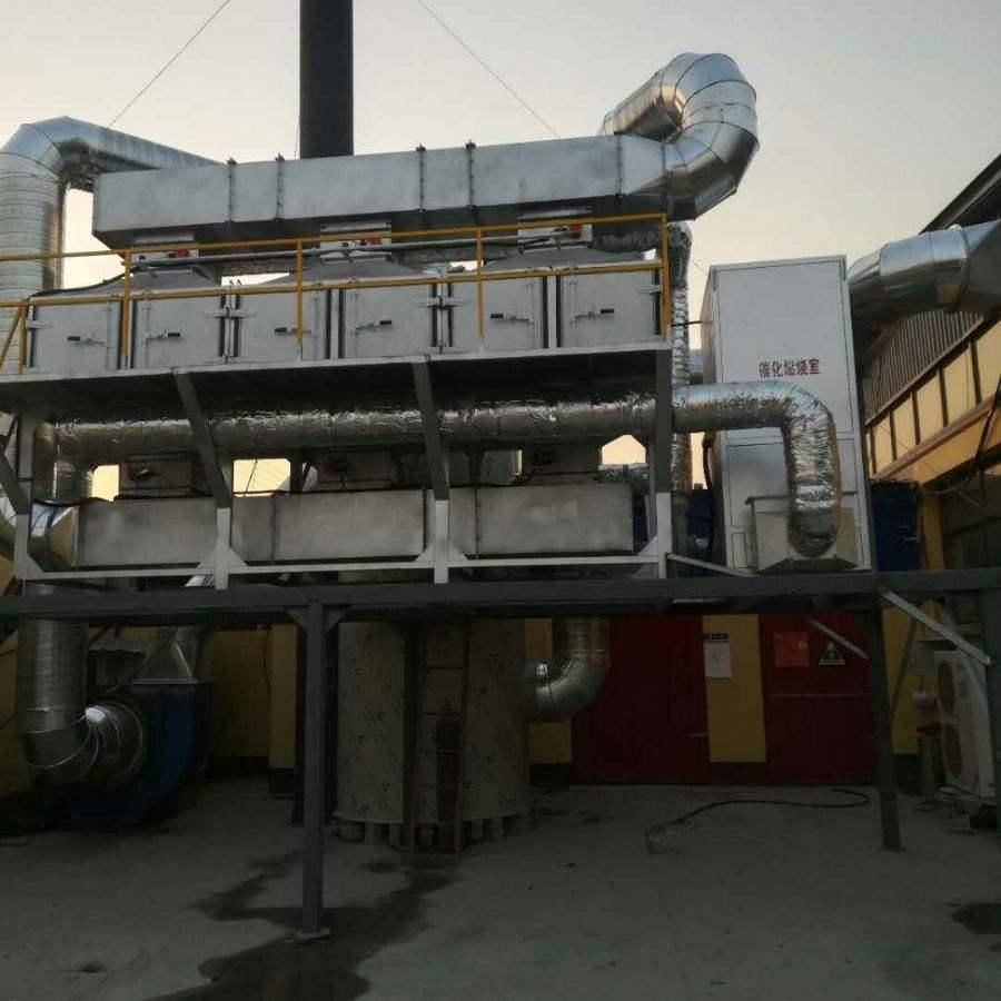 催化燃燒設備唐山供應廠家,