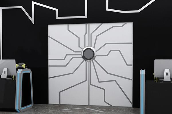 酒吧创意网红门