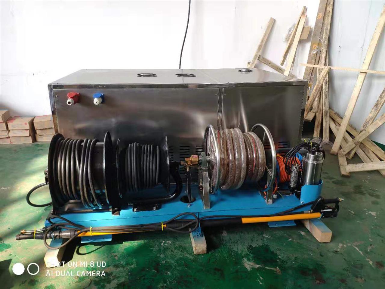 发往武昌南水北调工程的高压清洗机