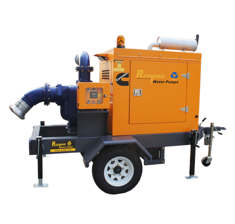 防汛排涝泵车