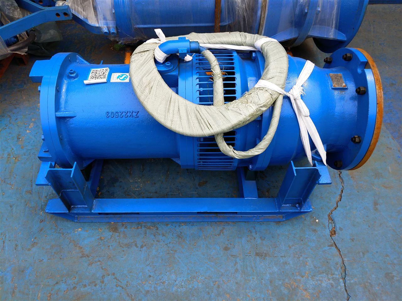 卧式潜水轴流泵