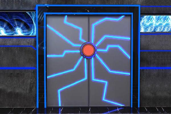科幻风格的门