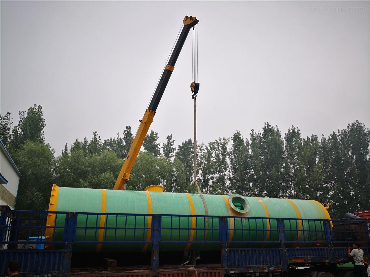 扬州污水一体化预制泵站污水处理成套设备