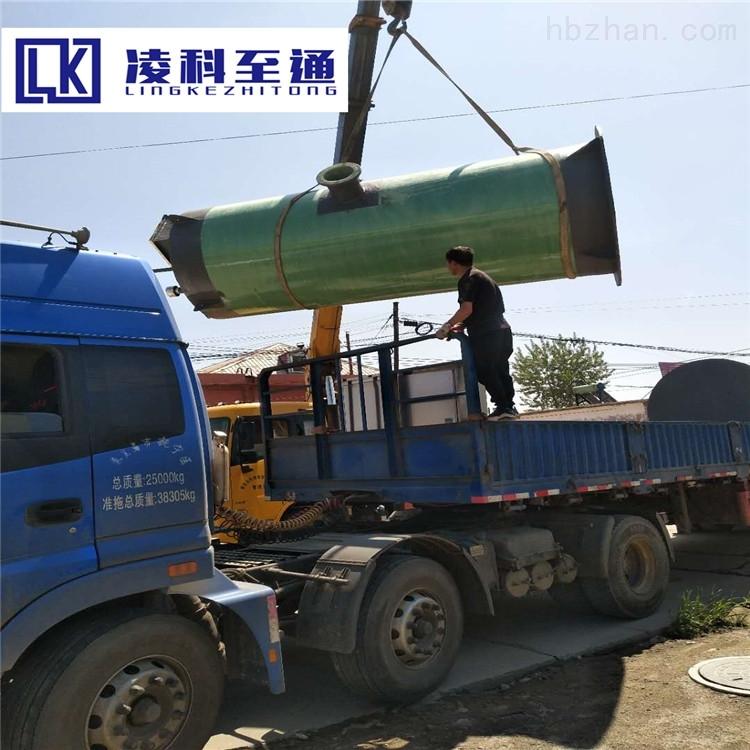 漳州智能一体化预制泵站工作原理