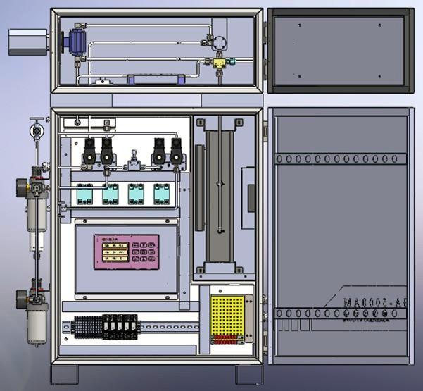脱硝氨逃逸系统外形图·2