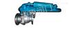 Q741TC液动碳钢陶瓷球阀