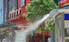 百盛商业街喷雾降温工程