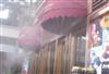 户外餐厅喷雾降温造景设备