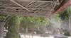停车广场院子凉亭喷雾降温加湿设备